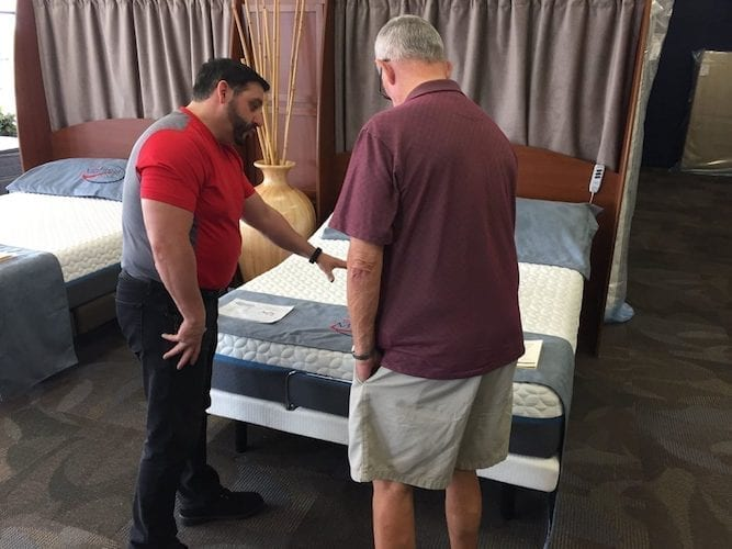Service at Mack Mattress Outlet